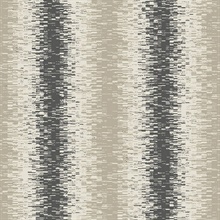 Quake Taupe Abstract Stripe