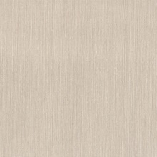 Raze Taupe Striated Texture Wallpaper