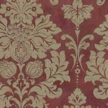 Red Axbridge Damask
