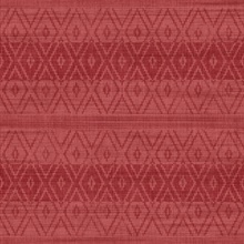 Red Commercial Tribal Stripe Wallpaper