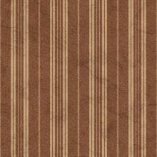 Red Farmhouse Stripe Wallpaper
