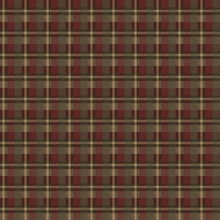 Red Heritage Plaid Wallpaper