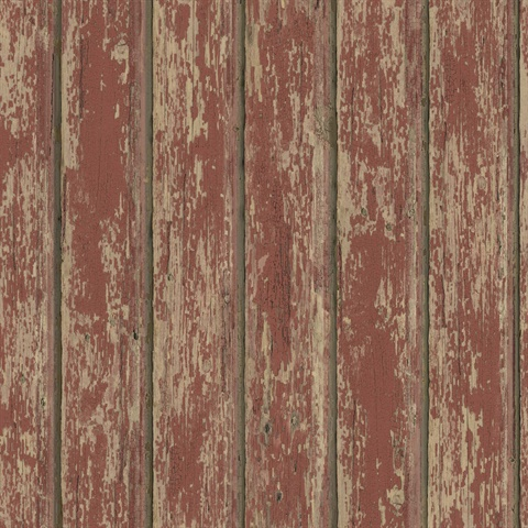 Ffr66103 Red Weathered Clapboards Wallpaper Wallpaper