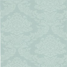 Rice Blue Meridian Damask