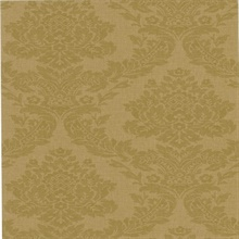 Rice Gold Meridian Damask