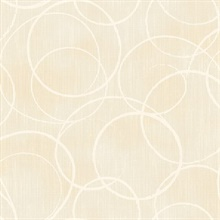 Ripple Beige Circle Geometric