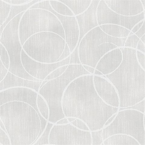 Ripple Light Grey Circle Geometric 2662 001943