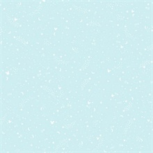 Robin's Egg Blue Disney Mickey Mouse Star Wallpaper
