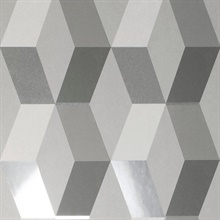 Rochelle Grey Geometric