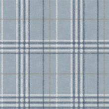 Rockefeller Light Blue Plaid