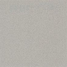 Rollins Taupe Faux Linen Commercial Wallpaper