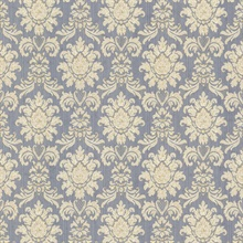 Romeo Blue Damask
