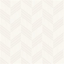 Rustic Chevron White Wallpaper