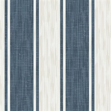 Ryoan Blueberry Stripes Wallpaper