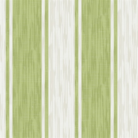 Ryoan Green Stripes Wallpaper