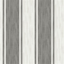 Ryoan Grey Stripes Wallpaper