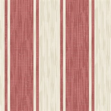 Ryoan Red Stripes Wallpaper