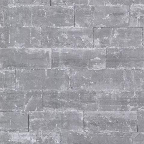 2774 414622 Sacramento Grey Seamless Slate Wallpaper