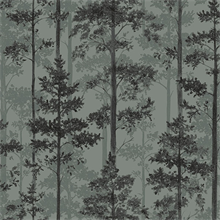 Sage Pine Tree Wallpaper