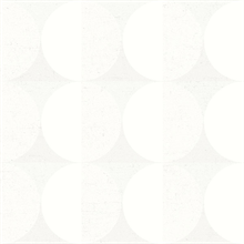 Sahara Moon Ivory Geometric Wallpaper