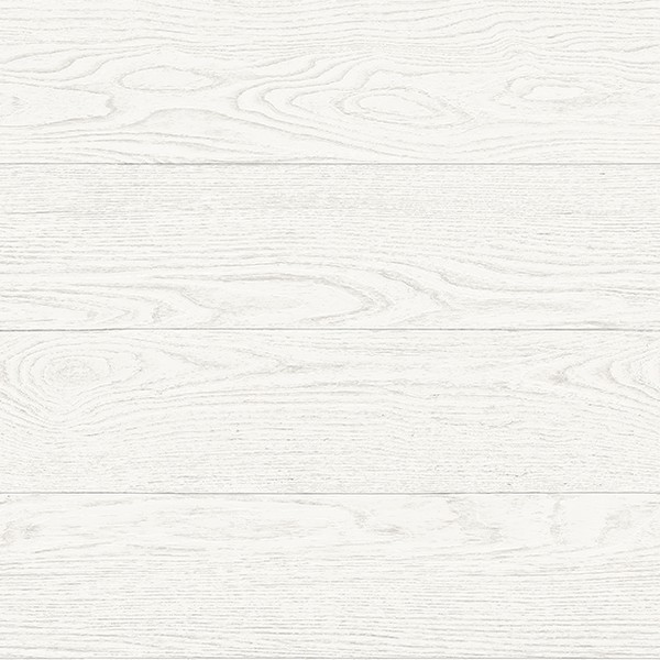 Bon Salvaged Wood White Plank Wallpaper