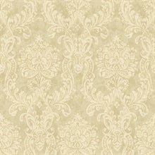 Samantha Sage Damask Wallpaper