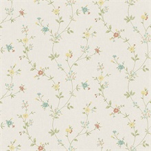 Sameulsson Cream Small Floral Trail