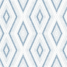 Santa Cruz Blue Geometric Wallpaper