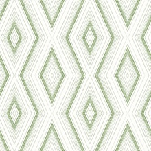Santa Cruz Green Geometric Wallpaper