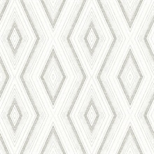 Santa Cruz Grey Geometric Wallpaper