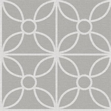 Savvy Grey Geometric Wallpaper