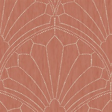 Scallop Light Red Wallpaper