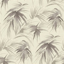 Scott Living Darlana Pewter Grasscloth Non Woven Unpasted Wallpaper