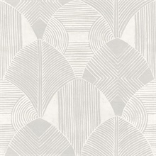 Scott Living Westport Dove Geometric Non Woven Unpasted Wallpaper