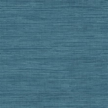 Sea Grass Blue Grasscloth