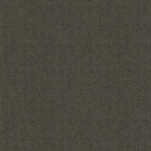 Seaton Black Linen Textured Wallpaper