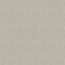 Seaton Brown Linen Textured Wallpaper