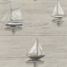Set Sail Grey Wood