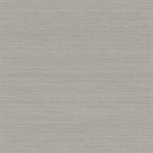 Shalene Charcoal Faux Silk Fabric Wallpaper