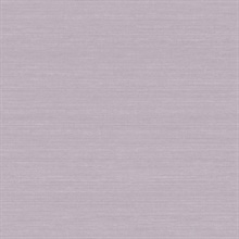 Shalene Purple Faux Silk Fabric Wallpaper