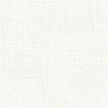 Silver Thatched Textured Faux Finish Wallpaper