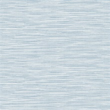 Sky Blue Reef Stringcloth Wallpaper