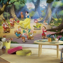 Snow White and the Seven Dwarfs XL Wallpaper Mural