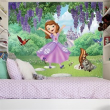 Sofia and Friends Garden XL Wallpaper Mural