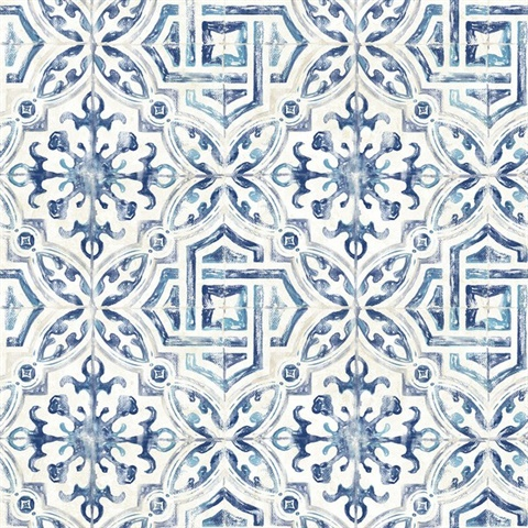 Sonoma Blue Spanish Tile
