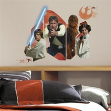 Star Wars Classic Burst Peel and Stick Giant Wall Decals