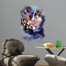 Star Wars Classic Mega Wall Graphic