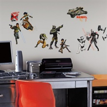 Star Wars Rebels Glow-in-the-Dark Wall Decals