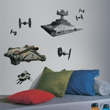 Star Wars Rebels & Imperial Ships Giant Wall Decals