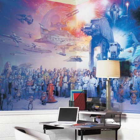 Star Wars Saga XL Wallpaper Mural 10.5' x 6'